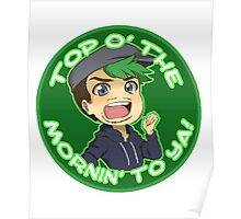 Jacksepticeye-Top o' the Mornin! Poster