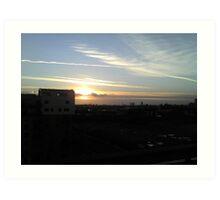 Cutting Across The Sky Art Print