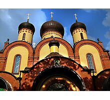 Cathedral in the Puhtica Convent Photographic Print