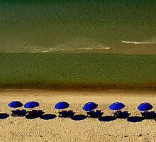 Beach Sun and Shade by Kenneth Purdom