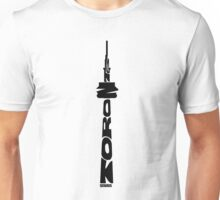 Toronto CN Tower Black Unisex T-Shirt