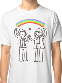 Sherlock and John: Rainbows Classic T-Shirt