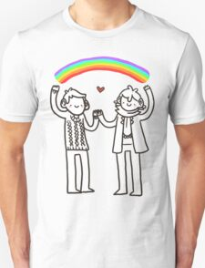 Sherlock and John: Rainbows T-Shirt