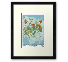 Ursidae - Land of the Bear Framed Print