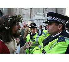 Jesus vs. The Met Photographic Print