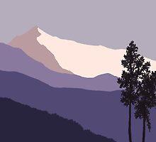 Himalayan Dawn by JaggedEdge