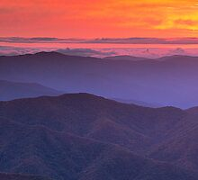 It's a Beautiful Morning - Clingman's Dome, NC/TN by Matthew Kocin