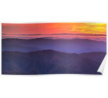 It's a Beautiful Morning - Clingman's Dome, NC/TN Poster