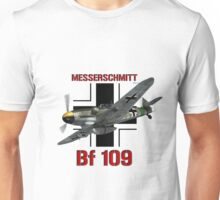 Bf 109 Fighter  Unisex T-Shirt
