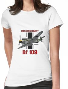 Bf 109 Fighter  Womens Fitted T-Shirt