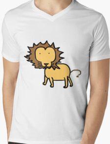 Jeremy the lion. Mens V-Neck T-Shirt
