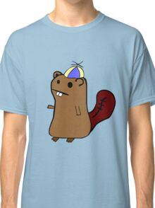 Beaver with hat Classic T-Shirt