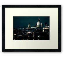 What would St Paul Say? Framed Print