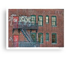 Urban Existence Canvas Print