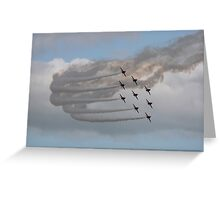 The Red Arrows 1 Greeting Card