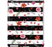 Watercolor Floral Pattern iPad Case/Skin