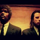 Vinny and Jules (Pulp Fiction) by densitydesign