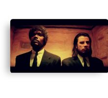 Vinny and Jules (Pulp Fiction) Canvas Print