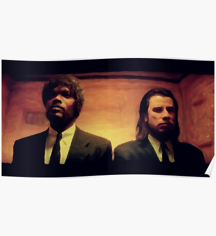 Vinny and Jules (Pulp Fiction) Poster