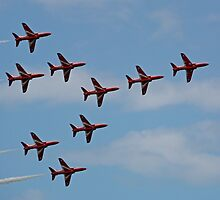 The Red Arrows 2 by Tony Steel