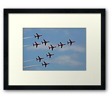 The Red Arrows 2 Framed Print