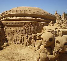 Sand Sculptures in Portugal by Sue Gurney
