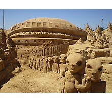 Sand Sculptures in Portugal Photographic Print