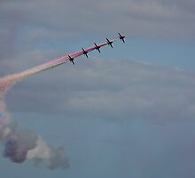 The Red Arrows 4 by Tony Steel