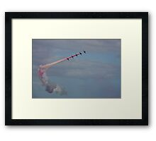 The Red Arrows 4 Framed Print