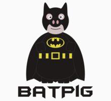 BatPig by daftgiraffe