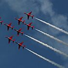 The Red Arrows 6 by Tony Steel