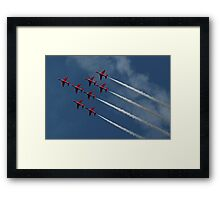 The Red Arrows 6 Framed Print