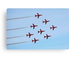The Red Arrows 7 Canvas Print