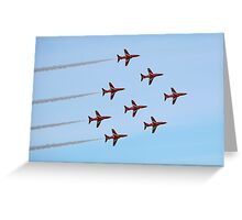 The Red Arrows 7 Greeting Card