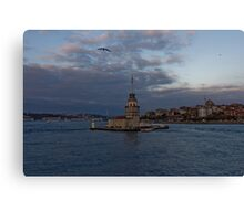Maiden's Tower, Istanbul, Turkey  Canvas Print