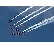 The Red Arrows 9 Photographic Print