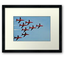 The Red Arrows 10 Framed Print