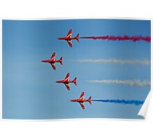 The Red Arrows 12 Poster