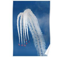 The Red Arrows 13 Poster