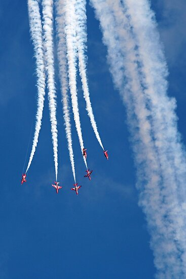 The Red Arrows 14 by Tony Steel
