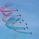 The Red Arrows 15 by Tony Steel