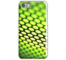Metallic backlit shinny background iPhone Case/Skin