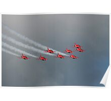 The Red Arrows 17 Poster