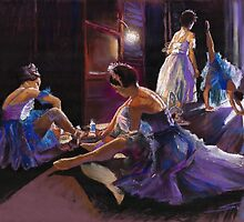 Ballet Behind the Scenes  by Yuriy Shevchuk