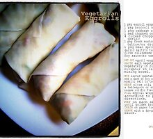Vegetarian Egg Rolls by jegustavsen
