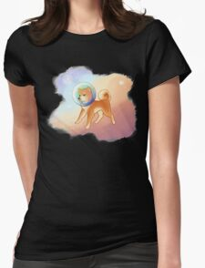 space puppy Womens Fitted T-Shirt