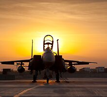 First Light on a Fighter by Tim Grams