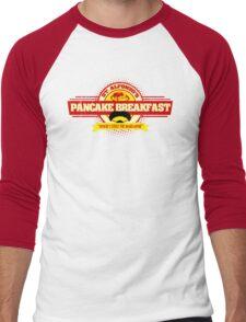 Saint Alphonzo's Pancake Breakfast  Men's Baseball ¾ T-Shirt