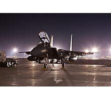 F15E as a Rock Star Photographic Print