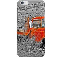 Blazing Orange iPhone Case/Skin